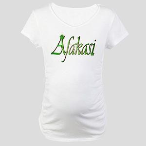 Afakasi Maternity T-Shirt