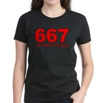 667 Neighbor of the Beast Women's Dark T-Shirt
