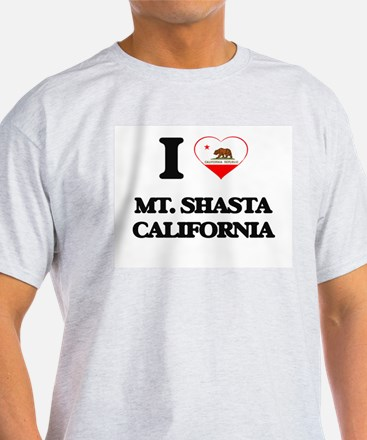 I love Mt. Shasta California T-Shirt