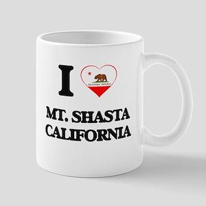I love Mt. Shasta California Mugs