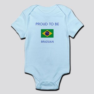 Proud to be Brazilian Body Suit