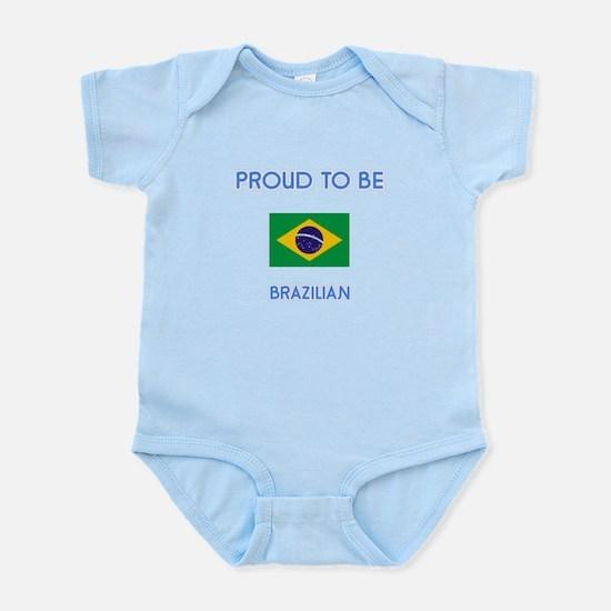 Proud to be Brazilian Body Suit