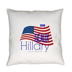 Geaux Hillary 2016 Everyday Pillow