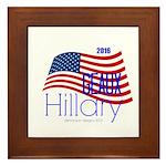 Geaux Hillary 2016 Framed Tile