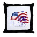 Geaux Hillary 2016 Throw Pillow