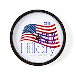 Geaux Hillary 2016 Wall Clock