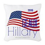 Geaux Hillary 2016 Woven Throw Pillow