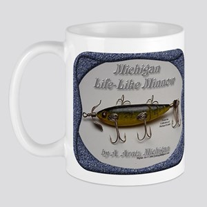 Michigan Lifelike Minnow Mug
