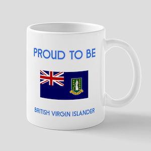 Proud to be British Virgin Islander Mugs