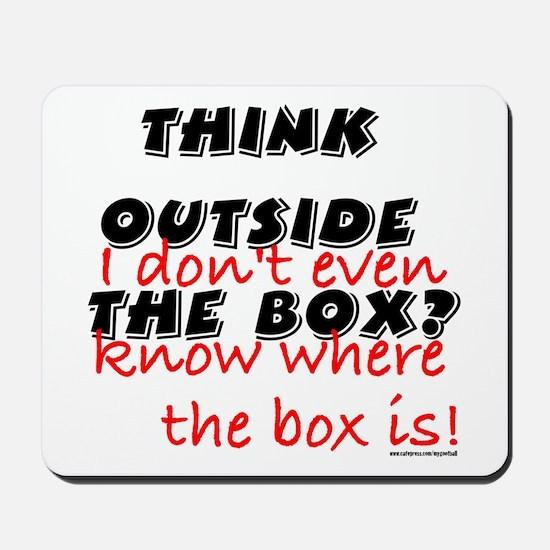 Outside the Box Mousepad