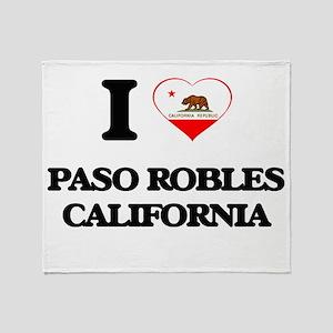 I love Paso Robles California Throw Blanket