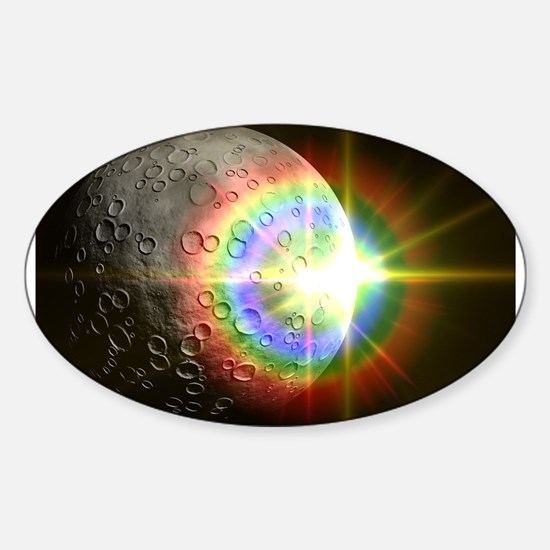 Sun Rise Over the Moon Decal
