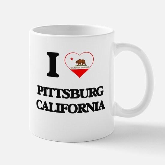 I love Pittsburg California Mugs