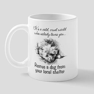 Rescue A Dog Mug
