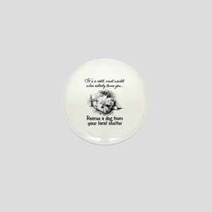 Rescue A Dog Mini Button