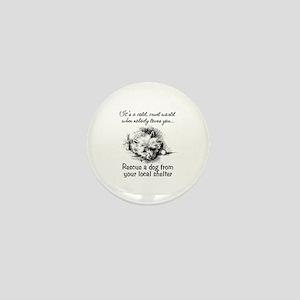 Rescue A Dog Mini Button