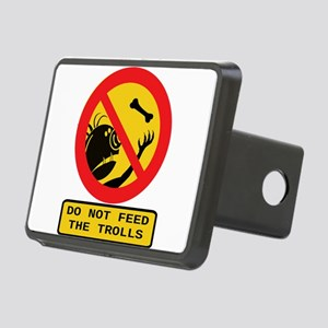 Don't Feed the Trolls Rectangular Hitch Cover