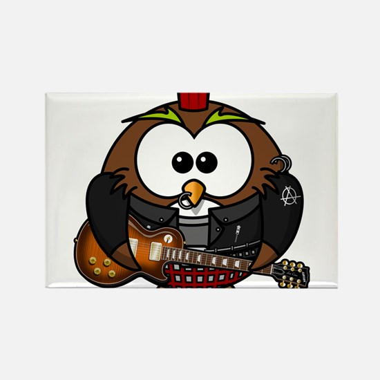 Punk Rock Owl Magnets