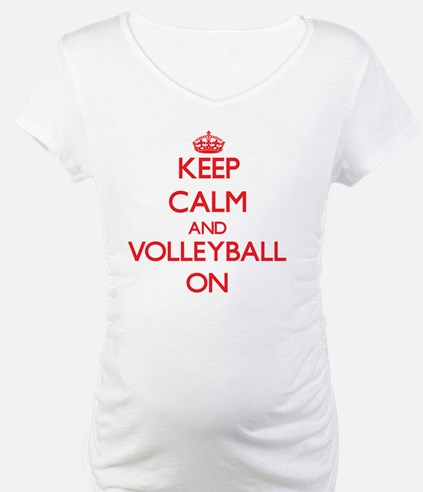 Keep Calm and Volleyball ON Shirt