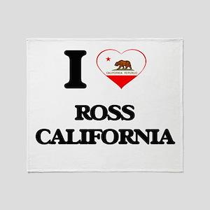 I love Ross California Throw Blanket