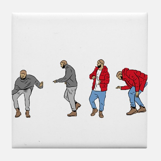 Drake Hotline bling Tile Coaster