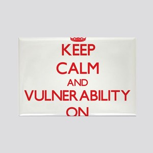 Keep Calm and Vulnerability ON Magnets