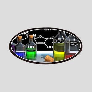 Rainbow Chemistry Lab Patch