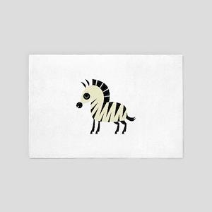 zebra 4' x 6' Rug