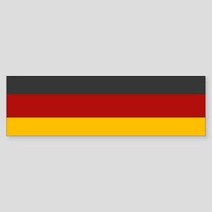 """Germany Flag"" Bumper Sticker"