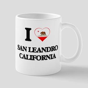 I love San Leandro California Mugs