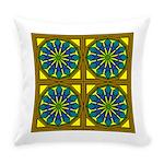 Eternal Flower Wheels 19 Everyday Pillow