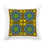 Eternal Flower Wheels 21 Everyday Pillow