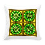 Eternal Flower Wheels 24 Everyday Pillow