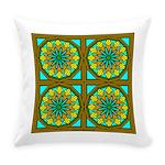 Eternal Flower Wheels 28 Everyday Pillow