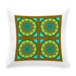Eternal Flower Wheels 29 Everyday Pillow
