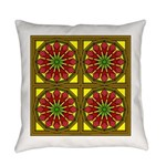 Eternal Flower Wheels 33 Everyday Pillow