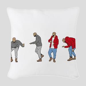 Drake Hotline bling Woven Throw Pillow