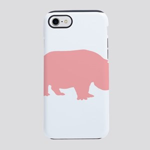 Pink Hippo iPhone 7 Tough Case