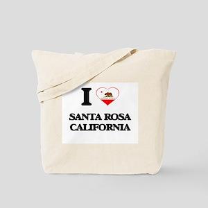 I love Santa Rosa California Tote Bag