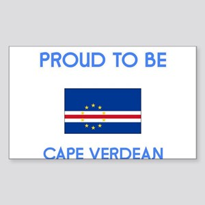 Proud to be Cape Verdean Sticker