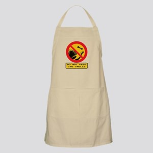 Don't Feed the Trolls Light Apron