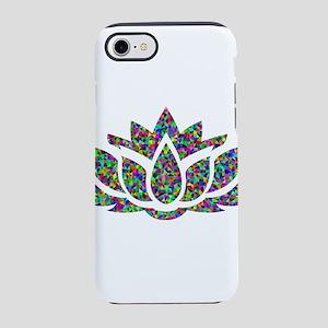 Prismatic Rainbow Lotus iPhone 7 Tough Case