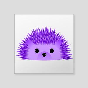 "Redgy the Hedgehog Square Sticker 3"" x 3"""