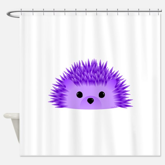 Redgy the Hedgehog Shower Curtain