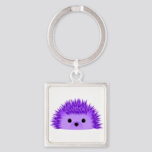 Redgy the Hedgehog Square Keychain