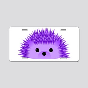Redgy the Hedgehog Aluminum License Plate