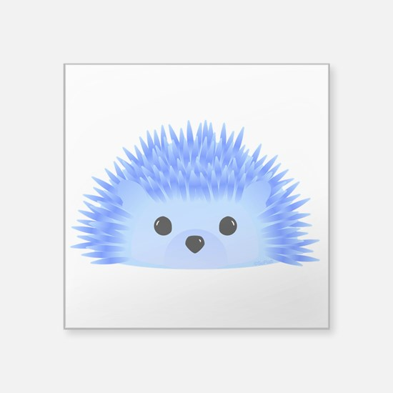 "Wedgy the Hedgehog Square Sticker 3"" x 3"""
