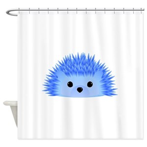 Baby Hedgehog Shower Curtains