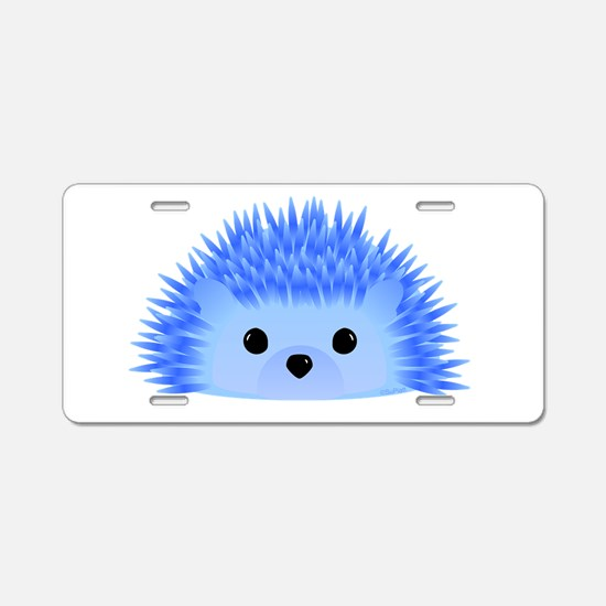 Wedgy the Hedgehog Aluminum License Plate