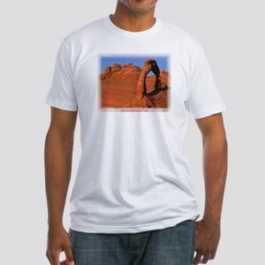 Delicate Arch Fitted T-Shirt